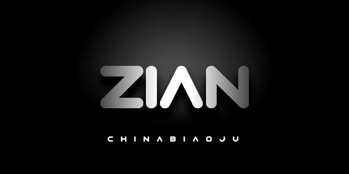 Imagen Typo Zian