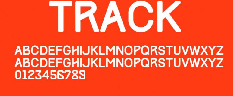 track免费字体