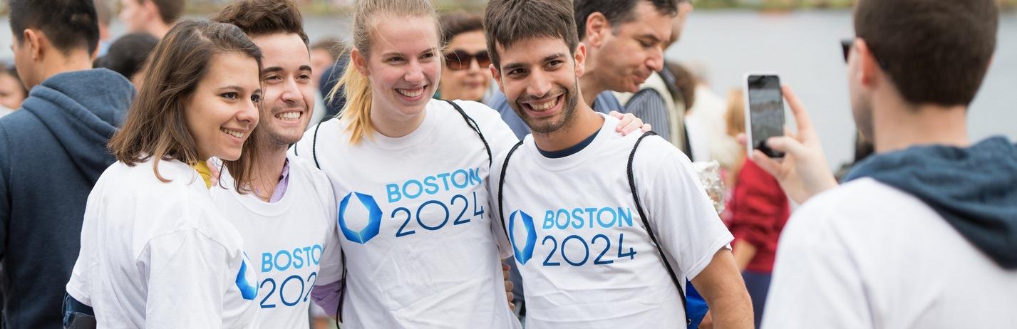 波士顿2024奥运竞选标志出来 中国标局
