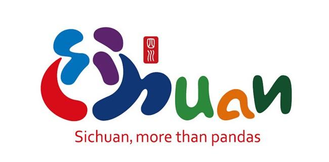 四川旅游形象logo