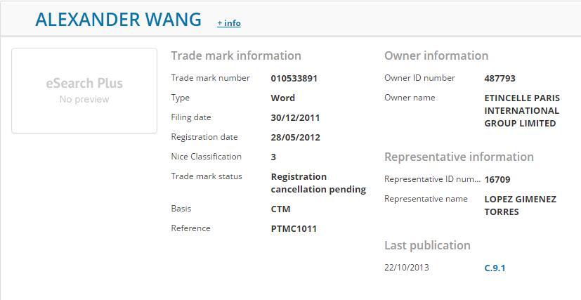 时装设计师王大仁,成功要回遭抢注为商标的姓名权案件最新流程2