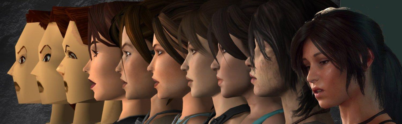 游戏《古墓丽影》主人公劳拉,从1996年第一代到2018年最新一代的变化。.jpg